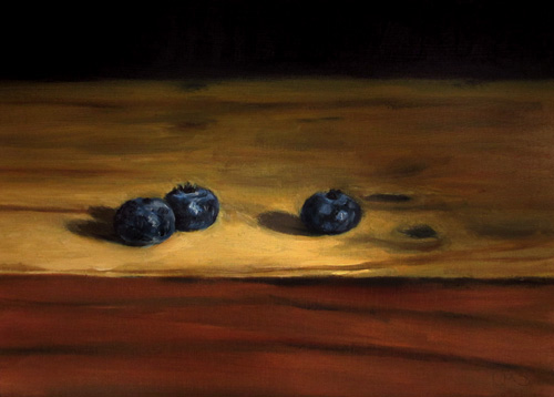 3 Blueberries