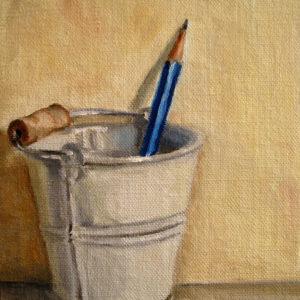 Pencil in Bucket