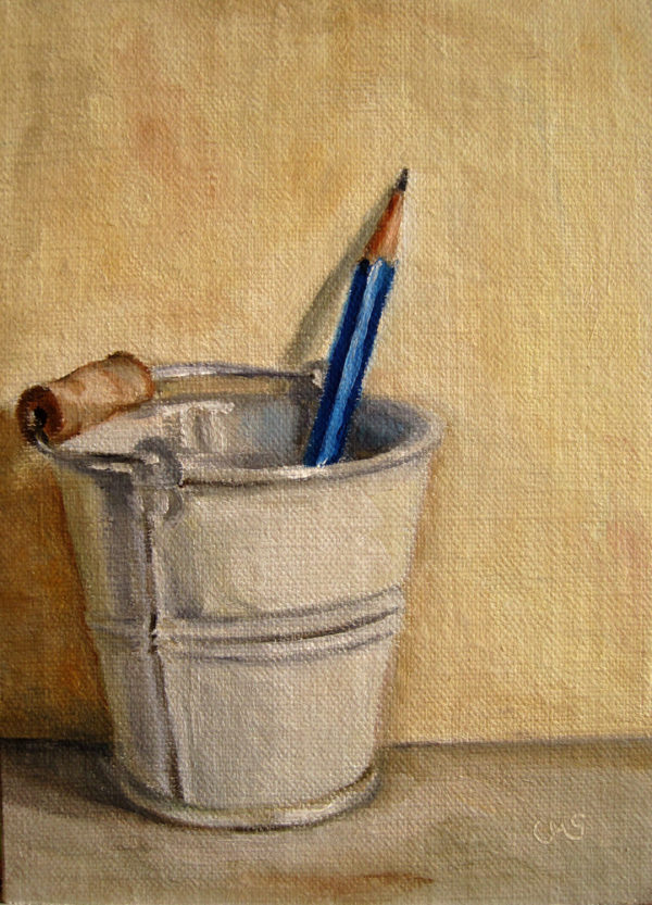 Pencil in Bucket