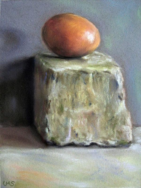 Egg on Cobblestone