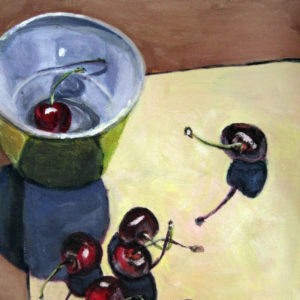 Cherries with Bowl