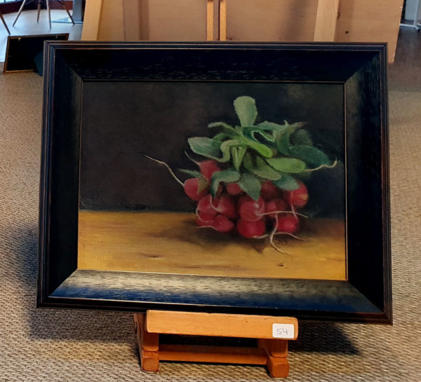 Radishes in Frame