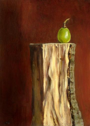 Grape on Wood