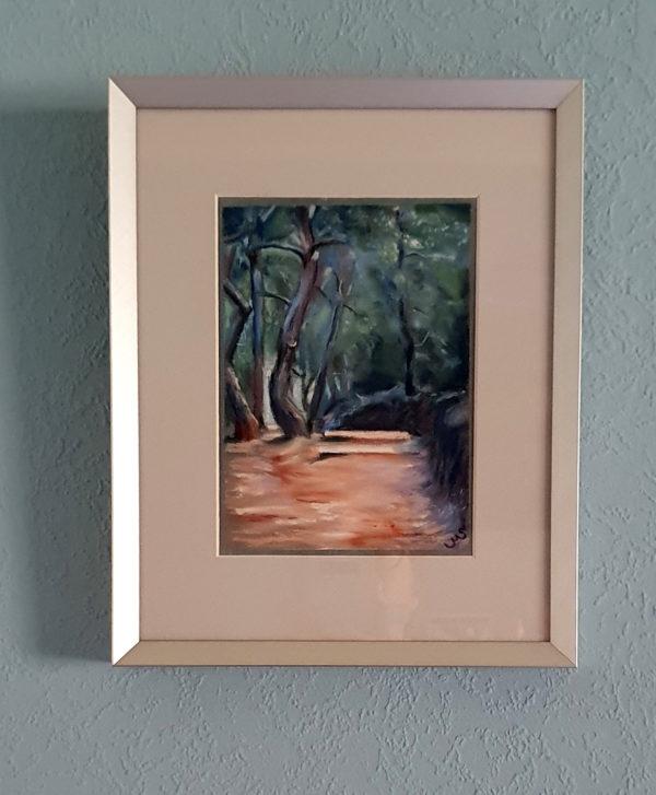 Provence, framed