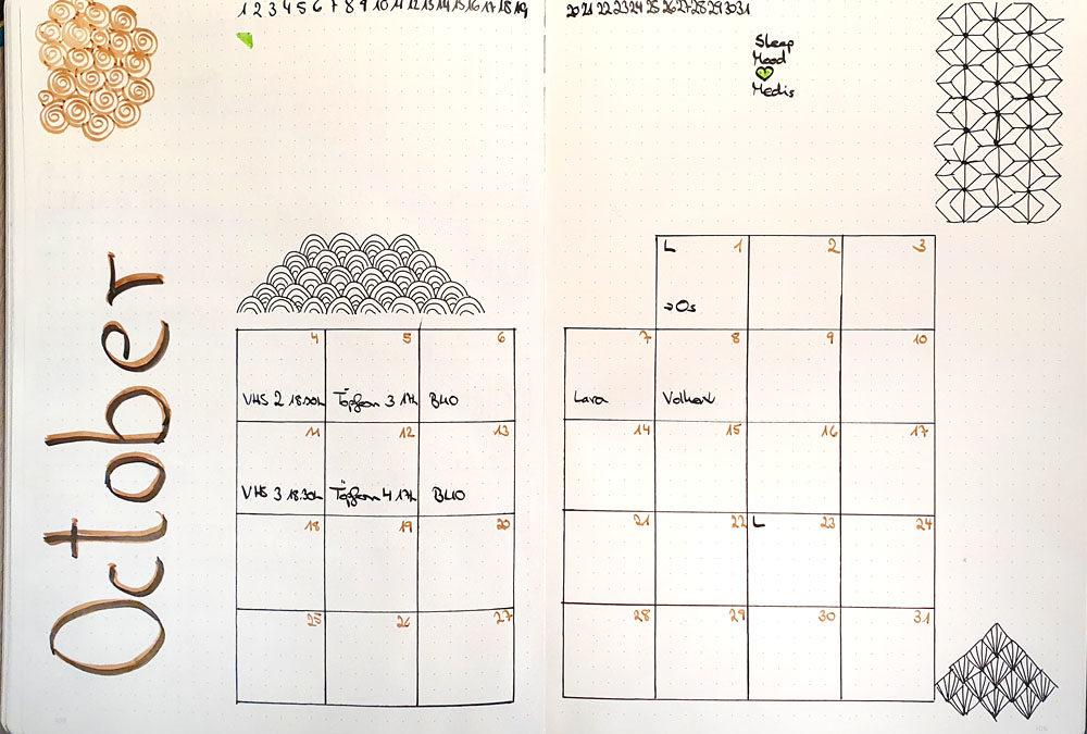Journaling in October